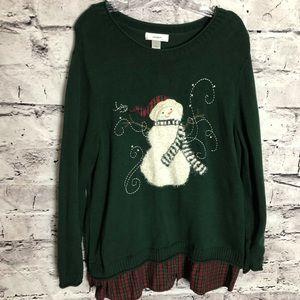 CJ Banks Christmas Sweater.